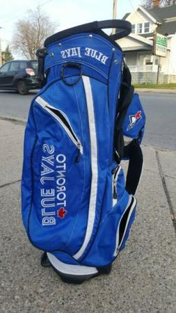 Toronto Blue Jays golf stand bag BARELY USED!!! 1W and 3W Ja