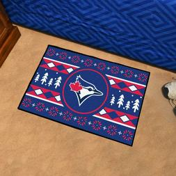 "Toronto Blue Jays Holiday Sweater Design 19"" X 30"" Starter A"