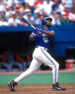Toronto Blue Jays JOE CARTER Glossy 8x10 Photo Baseball Prin