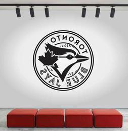 Toronto Blue Jays Logo Wall Decal MLB Sport Sticker Decor Bl