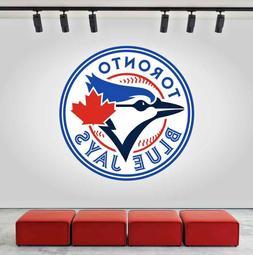 Toronto Blue Jays Logo Wall Decal Sports Sticker Decor Vinyl
