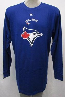 Toronto Blue Jays Men's Big & Tall Long Sleeve Critical Shir