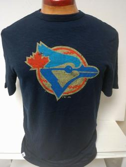 toronto blue jays mens logo shirt navy