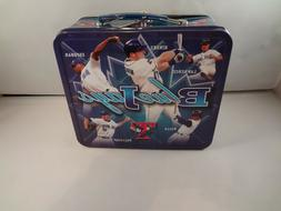 Toronto Blue Jays Metal Lunch Box With Thermos Free Shipping