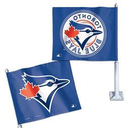 "Toronto Blue Jays MLB 14"" x 11.75"" Car Flag"