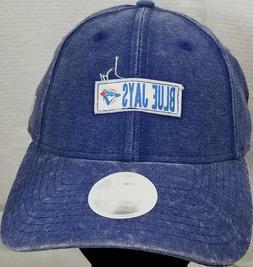 TORONTO BLUE JAYS~MLB~NEW ERA~9TWENTY~RUGGED TAG~WOMEN~BLUE~