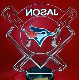 Toronto Blue Jays MLB Baseball Light Up Lamp LED With Remote