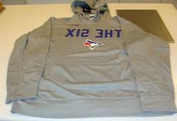 Toronto Blue Jays MLB Baseball THE SIX 6 Tee XXL Mens Grey H