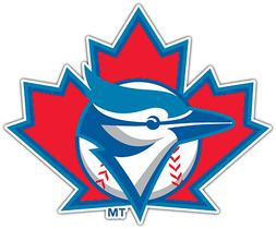 Toronto Blue Jays MLB Baseball Vinyl Car Bumper Window Stick