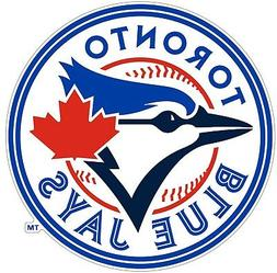 Toronto Blue Jays MLB Color Die Cut Vinyl Decal cornhole car