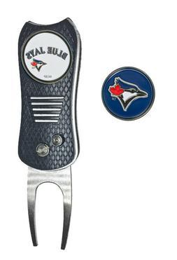 Toronto Blue Jays MLB Golf Ball Marker + Switchfix Switchbla