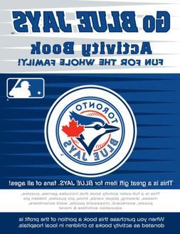 Toronto Blue Jays MLB Kids Sports Activity Book Coloring Sti