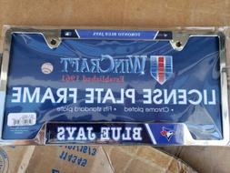 Toronto Blue Jays MLB Licensed Blue Painted Chrome Metal Lic