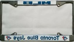 Toronto Blue Jays MLB Metal Chrome License Plate Frame Auto