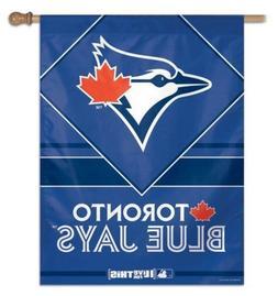 toronto blue jays mlb vertical flag banner
