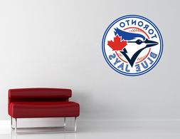 Toronto Blue Jays MLB Wall Decal Vinyl Sticker Decor Basebal