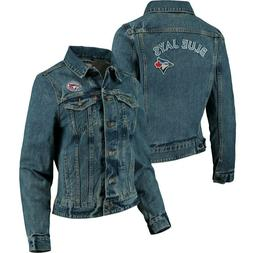 Toronto Blue Jays MLB Women's L Levi's Trucker Jean Jacket D
