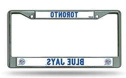 Toronto Blue Jays New Design Metal Chrome License Plate Tag