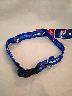 Toronto Blue Jays NEW X-Large Adjustable Dog Collar by Hunte
