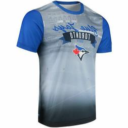 Toronto Blue Jays Outfield Photo Tee by Forever Collectibles