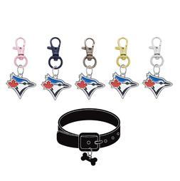 Toronto Blue Jays Pet Tag Collar Charm Baseball Dog Cat - Pi