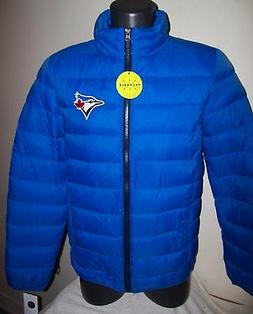 TORONTO BLUE JAYS Puffer Pack It Jacket with Tote Bag S M LG