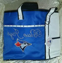 Toronto Blue Jays Rhinestone Blinged MLB Purse Tote Bag ~NEW