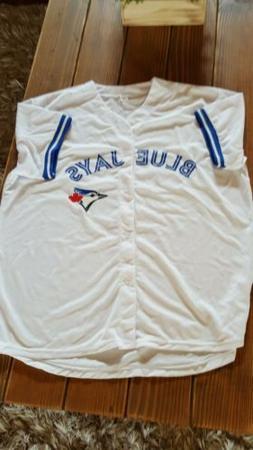 Toronto Blue Jays Sanchez #41 XL Tee Shirt Button Up Jersey