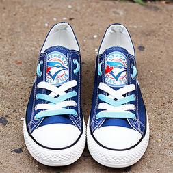 Toronto Blue Jays Shoes Unisex Baseball Shoes MLB shoes Blue