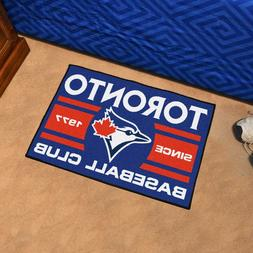 "Toronto Blue Jays Uniform Inspired 19"" X 30"" Starter Area Ru"