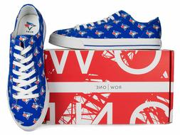 Toronto Blue Jays Row One Victory Sneakers Tennis Shoes New