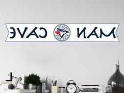 Toronto Blue Jays Wall Decal MLB Logo Sport Baseball Man Cav