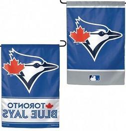 Toronto Blue Jays WC GARDEN FLAG Premium 2-sided Outdoor Hou