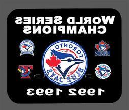 Toronto Blue Jays World Series Championship Banner Mouse Pad