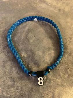 Toronto Blue Jays CAVAN BIGGIO #8 Triple Rope Team Necklace