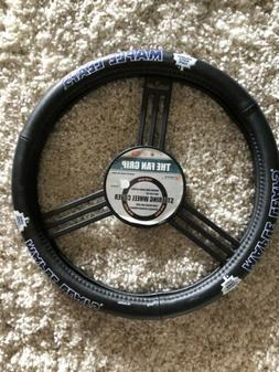 "Toronto Maple Leafs Leather 15"" Medium Steering Wheel Cove"