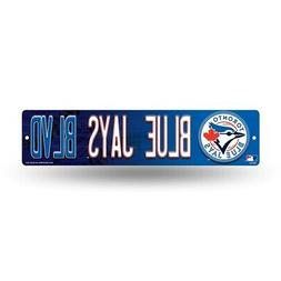 "Toronto MLB Baseball Blue Jays Blvd 16"" Street Sign Fan Wall"
